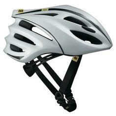 Mavic Syncro Helmet - White Pearl/Black
