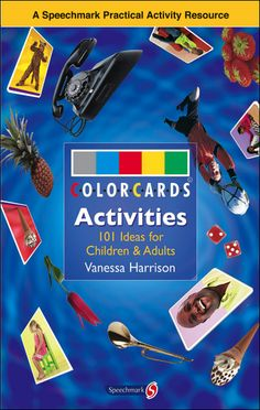 $29.00 ColorCards Activities: This handbook contains 101 teaching and therapy ideas for using ColorCards® photographic cards to develop language skills. Many of the easy, effective and highly motivating activities include word lists and tips. Organized into ten skill areas - attention, listening, understanding, auditory memory, sequencing, turn taking, classification, expression, using language, and life skills - these activities address all aspects of language learning.