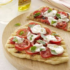 Grilled Pizza - WomansDay.com