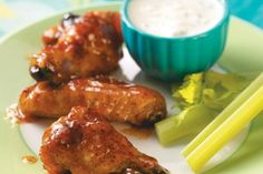 Apricot Chicken Wings Recipe by Taste of Home