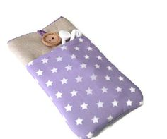 Phone Pouches – iPhone 6s Pouch - iPhone 6s Plus Stars – a unique product by driworks on DaWanda