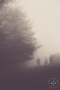 FINE ART - Melancholia by Stephanie Wilain de Leymarie, via Behance #woods #forest #mist