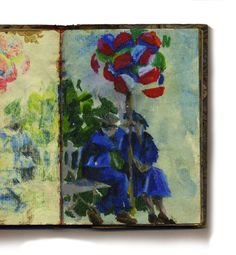 Marchand de ballons - San Miguel Mexico - Keith Miller (aquarelle/ pastels huile)