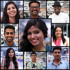 """There is an intricate relationship between looking good and feeling good, as many of us must have felt at some point or the other. The staff of Myntra's warehouse would agree, who responded variously to a """"makeover"""" session, but the words all added to """"h-a-p-p-y""""!"""
