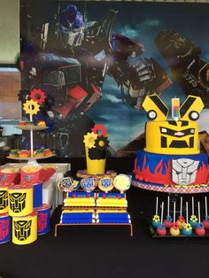 Transformers Birthday Party Ideas | Photo 7 of 14