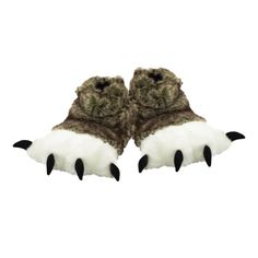 Wolf Paw Slipper Kids