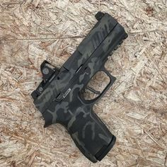 "dailygundose: ""📸 ・・・ Shredding through some particle board. Tactical Shotgun, Tactical Knives, Tactical Gear, Airsoft Guns, Weapons Guns, Guns And Ammo, Best Handguns, Camo Guns, Custom Guns"