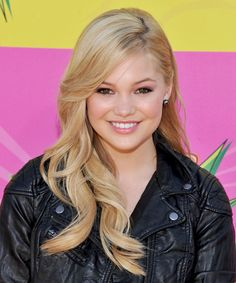Olivia Holt Hairstyle - Formal Long Straight Hairstyle. Click on the image to try on this hairstyle and view styling steps!