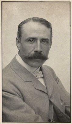 Sir Edward Elgar (1857-1934) - English Composer. England. Circa 1905.