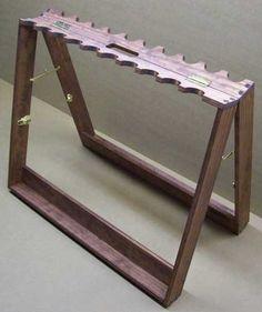 folding gun rack