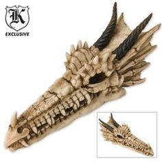 $17 Dragon Skull Wall Mount
