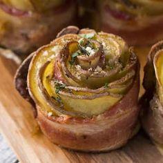 Ces roses de pommes de terre vont émerveiller vos convives