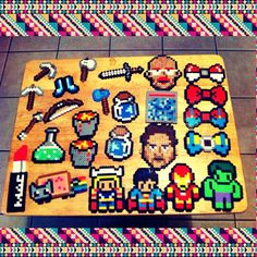 Perler bead collection by jaleh_bost_12