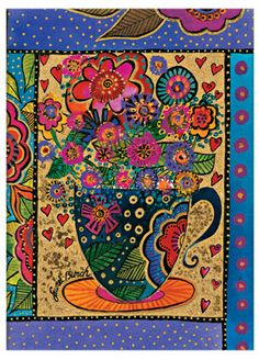 """""""Sweet Friend""""; part of @Paperblanks' Laurel Burch Playful Creations collection of writing journals"""