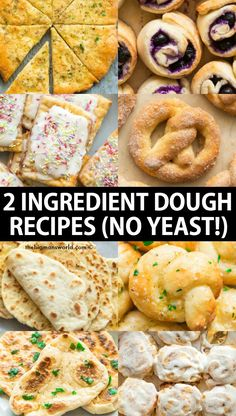 2 Ingredient Weight Watchers Magic dough recipe- Versatile, easy and made with NO yeast! Using just Greek yogurt and self-rising flour. Yogurt Recipes, Ww Recipes, Cooking Recipes, Simple Recipes, Recipies, 2 Ingredient Pizza Dough, 2 Ingredient Recipes, 2 Ingredient Cakes, Weight Watchers Pizza
