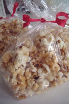 Contraband Caramel Corn - COOKING bake sale idea