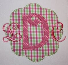 Monogram & Applique Designs: This is why I *heart* Sew What Pro!!