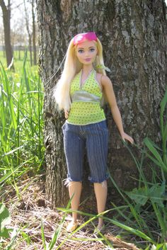 https://flic.kr/p/GM2vzR | Barbie Fashionistas Doll 22 Chambray Chic - Curvy 2015 Mattel