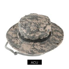 Bucket Hat Boonie Hunting Fishing Outdoor Wide Caps Brim  78a26059198d