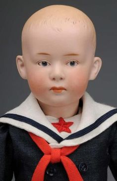 Image detail for -Gebruder Heubach Character Boy Doll. : Lot 2210