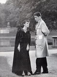 Last year in Marienbad...could never understand the film, but the Chanel wardrobe was iconic