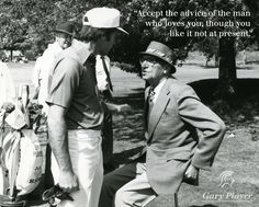 Gary Player and father Harry Player