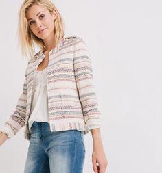 Designer-inspired jacket