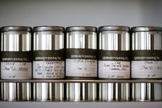 Hubbard & Cravens - Coffee Canisters