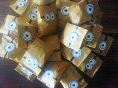 Despicable Me Party loot bags