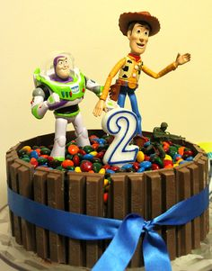 the Toy Story chocolate butter cake