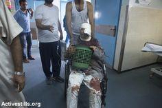 Gaza under attack, Al Shifa Hosptial, 20.7.2014