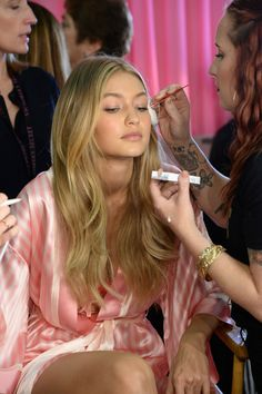 Gigi Hadid - Backstage at the 2015 Victoria's Secret Fashion Show | Harper's Bazaar