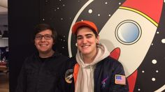 Tyler Savery and Nev Todorovic founded their media production company The Young Astronauts during their second year of university.