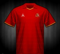 Spain home shirt for the 1988 European Championship.
