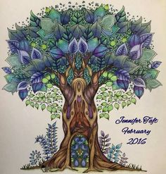 367 Best Enchanted Forest Coloring Book Images On Pinterest