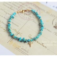 turquoise*closeブレスレット