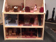 Escala 1//12th casa de muñecas en miniatura hechas a mano para damas de cabo-Varios