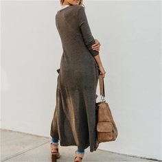 Legging Outfits, Cardigan Outfits, Long Cardigan, Knit Cardigan, Spring Fashion Casual, Autumn Fashion, Women's Fashion, Fashion For Women Over 40, Long Sweaters