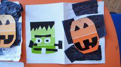 temporada noviembre, laminas de color , aplicacion de stickers, para los detalles ojos, cabello boca, vinil autoadherible