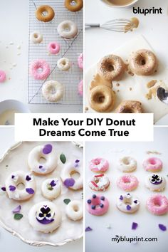 Make Your DIY Donut Dreams Come True: Diy Donuts, Doughnuts, Baking Ideas, Baking Recipes, National Donut Day, Kitchen Time, Red Carpets, Dream Come True, Dreams