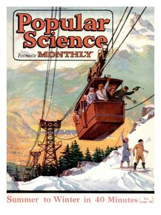 Front Cover of Popular Science Magazine: January 1, 1920 Print at Art.com