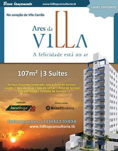 Ares da Villa - Construtora Jacutinga. Vila Carrão