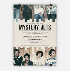 Mystery Jets // Poster