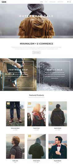 Gear WordPress E-commerce Theme