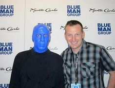 NASCAR driver Michael McDowell spotted at Blue Man Group inside Monte Carlo Resort and Casino March 7, 2015