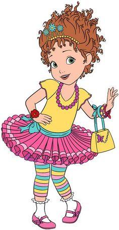 Clip art of Disney's Fancy Nancy #fancynancy Fancy Birthday Party, Fancy Party, 3rd Birthday, Fancy Nancy Costume, Disney Junior, Cartoon Kids, Book Characters, Disney Art, Little Girls