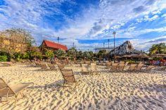 Disney Resorts -- Polynesian Beach