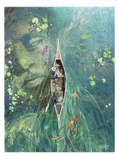 photography and illustration Art Inspo, Kunst Inspo, Inspiration Art, Art And Illustration, Illustrations, Creative Illustration, Watercolor Illustration, Watercolor Art, Art Anime