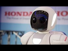 Newest Honda ASIMO Robot Moves Like A Human - YouTube