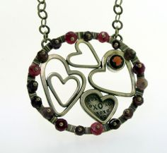 XoXo Heart Necklace - KathrynRiechert